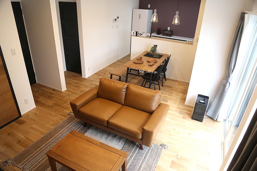 sakaiモデルハウスリビング|大分の工務店 坂井建設 sakaiの家