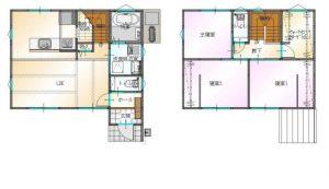 大分市津守に建築中の新築建売住宅 間取り|sakaiの家スタッフブログ
