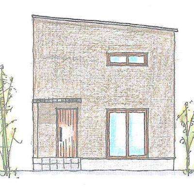 外観イラスト||大分の工務店 坂井建設 sakaiの家