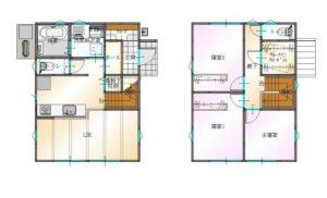 8月22~23日大分市津守見学会間取り|大分の建売・規格住宅sakaiの家ブログ