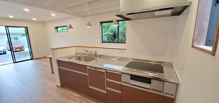 大分市城南カフェのような新築建売住宅 キッチン|大分 SAKAIの家