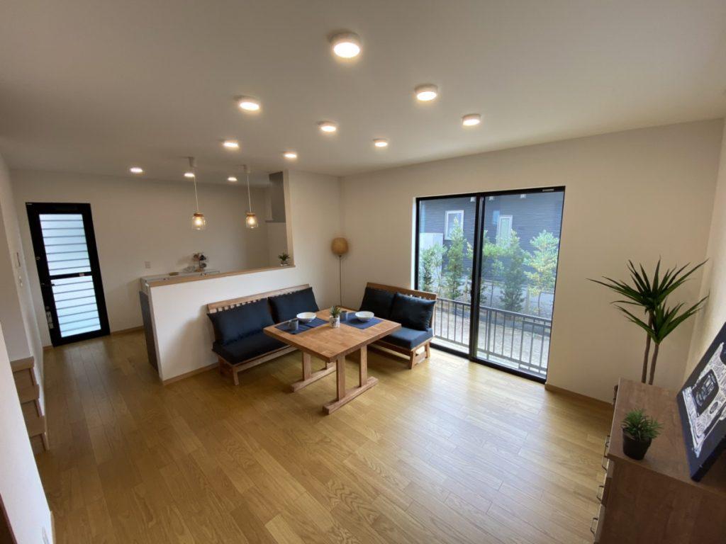 片島の建売住宅内観2 リビング 大分の建売住宅sakaiの家スタッフブログ