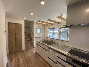 8月22~23日大分市津守見学会キッチン|大分の建売・規格住宅sakaiの家ブログ