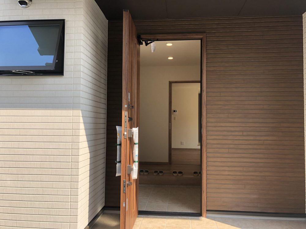 SAKAIの家|玄関