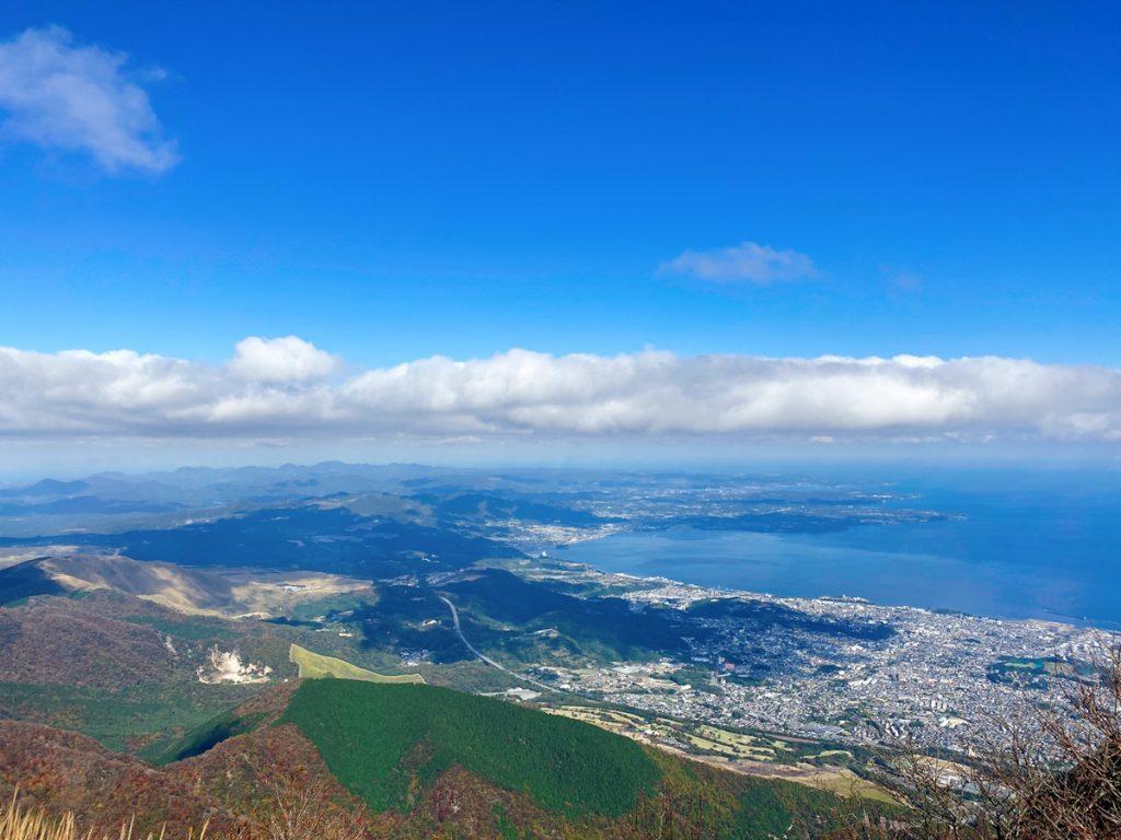 鶴見岳見晴らし|sakaiの家スタッフブログ